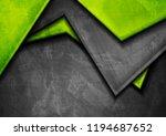 grunge tech material contrast...   Shutterstock .eps vector #1194687652