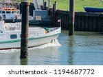 excursion ship on the schleswig ... | Shutterstock . vector #1194687772