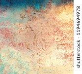 colourful grunge background.... | Shutterstock . vector #1194694978