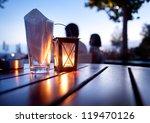 Mediterranean Restaurant Table...