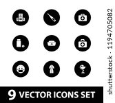 vector  filled icons such as... | Shutterstock .eps vector #1194705082