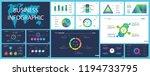 business infographic design set ... | Shutterstock .eps vector #1194733795
