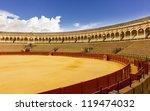 bullfight arena  plaza de toros ... | Shutterstock . vector #119474032
