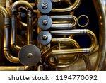 detail of trumpet as very nice... | Shutterstock . vector #1194770092