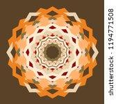 circle aztec pattern  seamless... | Shutterstock .eps vector #1194771508