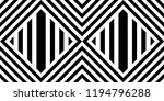 seamless pattern with striped... | Shutterstock .eps vector #1194796288