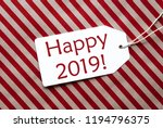 label on red wrapping paper ... | Shutterstock . vector #1194796375