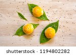 chinese pastry or traditional... | Shutterstock . vector #1194802282