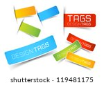 design tags and labels  ... | Shutterstock .eps vector #119481175