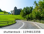beautiful architecture at vaduz ... | Shutterstock . vector #1194813358