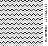 seamless zig zag pattern.... | Shutterstock .eps vector #1194827158