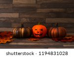holiday of halloween concept... | Shutterstock . vector #1194831028