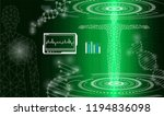 abstract background technology... | Shutterstock .eps vector #1194836098