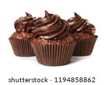 Tasty Chocolate Cupcakes On...