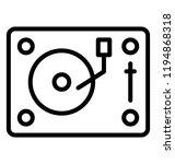 icon of a rectangular disk... | Shutterstock .eps vector #1194868318