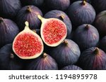 Fresh Ripe Figs As Background ...