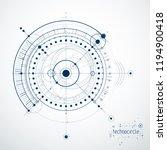vector industrial and... | Shutterstock .eps vector #1194900418