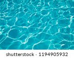 swimming pool water background... | Shutterstock . vector #1194905932