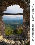 the old castle of calascio | Shutterstock . vector #1194948742