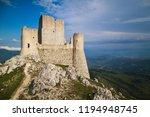 the old castle of calascio | Shutterstock . vector #1194948745