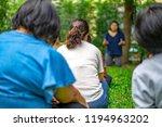 asian guys in the garden...   Shutterstock . vector #1194963202