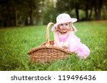 two little kids dating with... | Shutterstock . vector #119496436