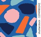 trendy vector seamless pattern... | Shutterstock .eps vector #1194980242