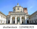 view of the colonne   basilica  ... | Shutterstock . vector #1194981925