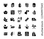 laundry service icon set in... | Shutterstock . vector #1194997045