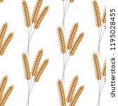 seamless pattern. vector... | Shutterstock .eps vector #1195028455