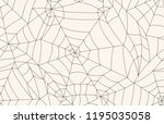 halloween seamless pattern with ... | Shutterstock . vector #1195035058