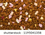 topview of dutch candy and... | Shutterstock . vector #1195041358