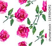 seamless watercolor paintings.... | Shutterstock . vector #119504392