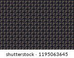 seamless pattern with fantasy...   Shutterstock . vector #1195063645