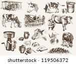 agriculture,animal,bovine,breakfast,bucket,butter,cans,cattle,collection,cow,crock,dairy,dairymaid,design,drink