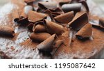 details of the chocolate in...   Shutterstock . vector #1195087642
