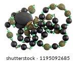 homemade female beads are made... | Shutterstock . vector #1195092685