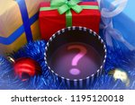 open box and new year's gifts | Shutterstock . vector #1195120018
