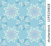 minimalist branches elegant... | Shutterstock .eps vector #1195154818