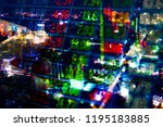 stock market quotes which...   Shutterstock . vector #1195183885
