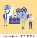 movie people production | Shutterstock .eps vector #1195197832
