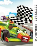 the formula race   super car  ...   Shutterstock . vector #119521132