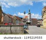 loket city  west bohemia  czech ... | Shutterstock . vector #1195219555