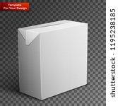 milk  juice  beverages  carton... | Shutterstock .eps vector #1195238185