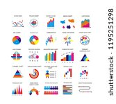 graph sign data icon | Shutterstock . vector #1195251298