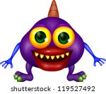 monster cartoon | Shutterstock .eps vector #119527492