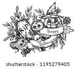 vector illustration  happy...   Shutterstock .eps vector #1195279405