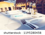 Reserved Table. A Tag Of...