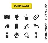 build icons set with chain ...