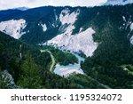 ruinaulta is a canyon created... | Shutterstock . vector #1195324072